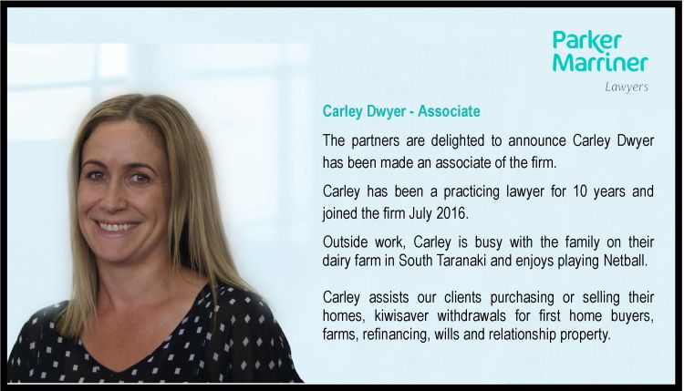 Carley Dwyer - Associate image